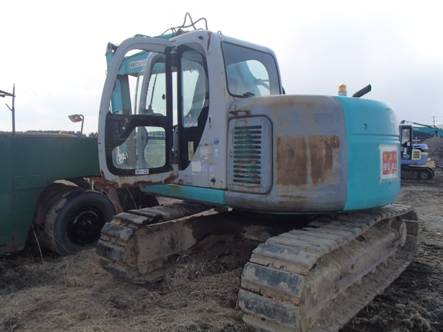 Kobelco Excavator SK115SR - Heavy Equipments | Alpine Japan
