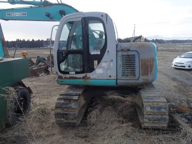 Kobelco Excavator SK115SR - Heavy Equipments | Alpine Japan
